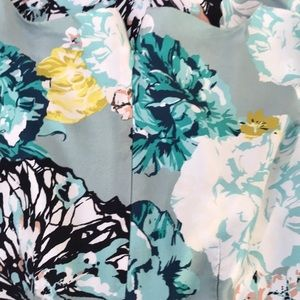 J. Crew Aquatic Silk Dress